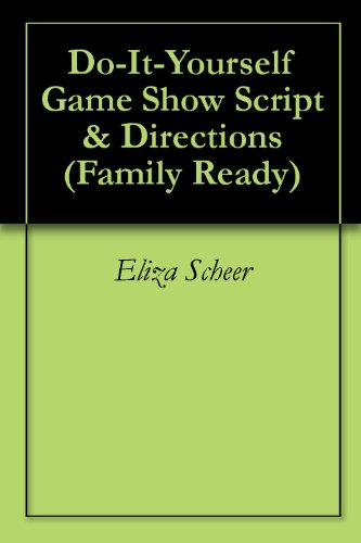 Amazon do it yourself game show script directions family do it yourself game show script directions family ready book 1 solutioingenieria Images