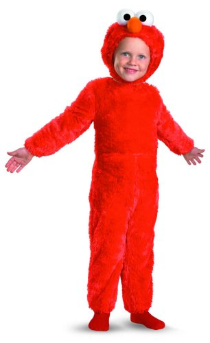 Elmo Comfy Fur Costume - Small (Sesame Street Elmo's World Halloween)