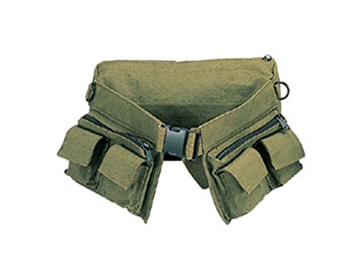 Rothco Canvas 7 Pocket Fanny Pack, Olive Drab
