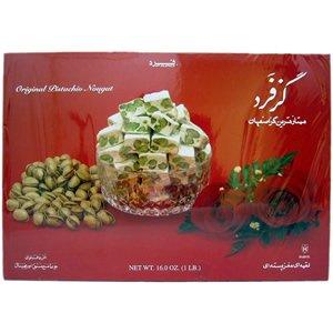 Fard Persian Nougat Candy Original 16 (Corn Nougat)