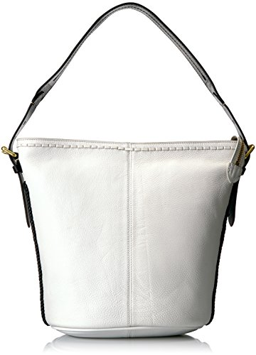 Cole Bucket Haan White Loralie Hobo Whipstitch OSOAqxnr