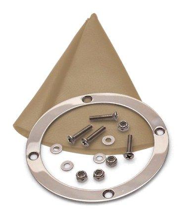 American Shifter 501116 10 Trim CHR Push Ban TN Boot Billet Knob 518 Shifter Kit for EE85B