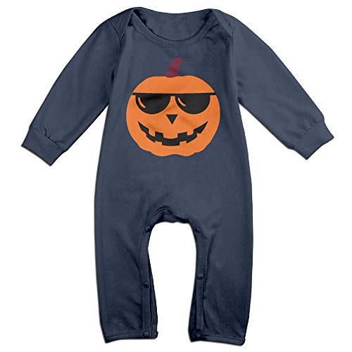 Ahey Babys Happy Halloween Long Sleeve Bodysuit 6 M (Joker Jack Child Costume)