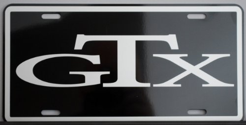 GTX METAL LICENSE PLATE (Plymouth License Plate)