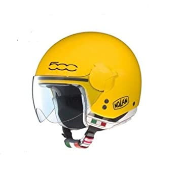 NOLAN N20 TRAFFIC CASCO JET FIAT EMOTICON COLOR AMARILLO, TALLA S MADE IN ITALY