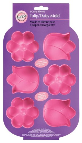 Wilton Easter Tulip/Daisy Mold 6 Cavity Pan