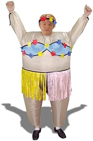 Inflable disfraz bailarina hawaiana: Amazon.es: Juguetes y juegos
