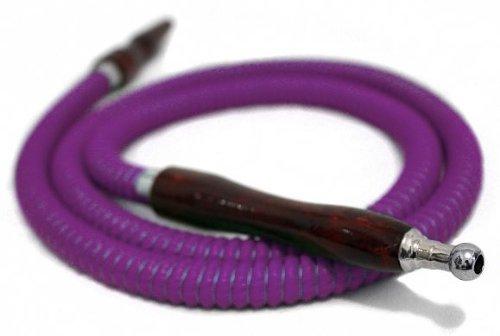 SALE Purple 57'' HOSE Hookah Shisha Nargila for water smoking bar pipe NEW