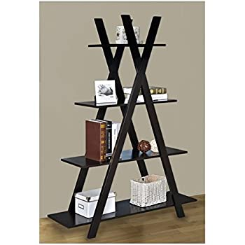 Our Criss Cross Bookshelf Has A Slanted Design The Slant Is An Ideal