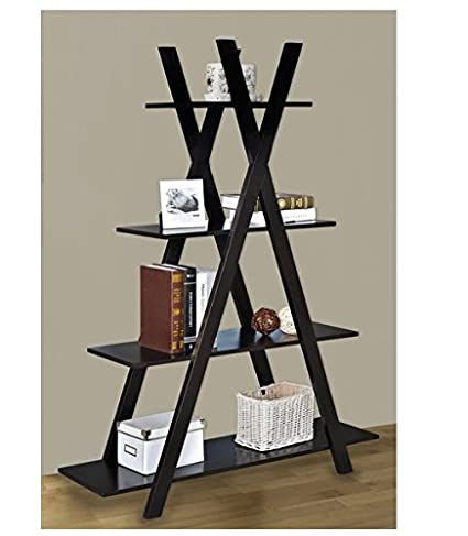 purchase cheap 155f2 c940f Amazon.com: Our Criss Cross Bookshelf Has a Slanted ...