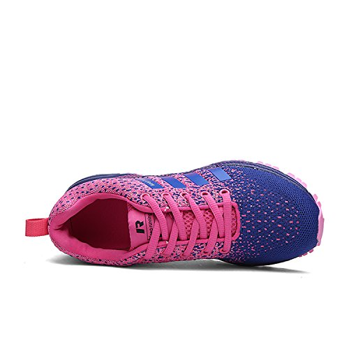 Gym Chaussures Jogging Air 1 Kuako Sports Fitness Femmes Course De Walk Casual Athletic Violet Trainers Hommes Baskets qECPwH