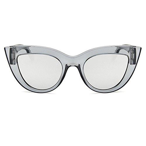 Protection Unisexe Cat Hommes Femme Taigood De Lunettes Soleil Sunglasses Uv400 Eyes Polarisées Argent Vintage x1YR8qvp