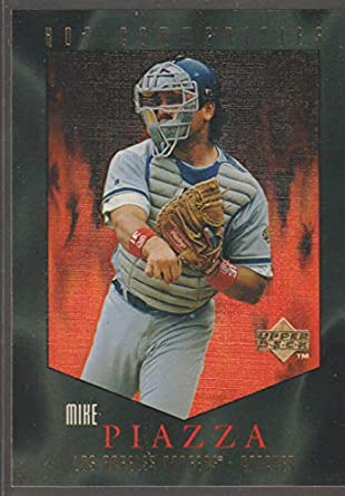 Amazoncom 1997 Upper Deck Mike Piazza Dodgers Hot Commodities