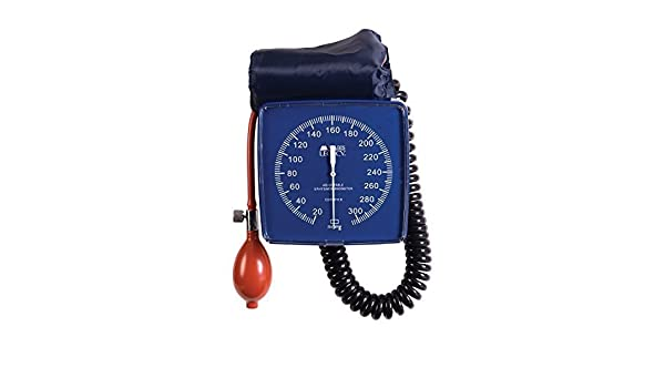Amazon.com: MABIS Legacy Professional Clock Aneroid Sphygmomanometer Blood Pressure Gauge with Adult Cuff, Wall Mounted, Blue by MABIS DMI Healthcare: ...