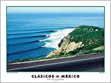 "Mexico Classics ""Salsipuedes"" Northern Baja California Surfing Poster by Dennis Junor/Creation Captured"