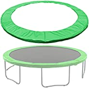 Large Trampoline Cover Replacement 6FT 8FT 10FT 12FT 13FT 14FT 16FT 3-Layer Thickening PE Spring Safety pad Pa