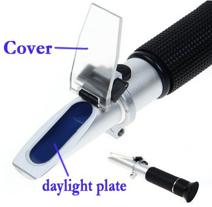 Cat and Dog Clinical hand held Refractometer RHC-300ATCblue by Junyushiye (Image #7)