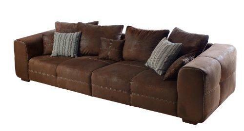 Cavadore 503 Big Sofa Mavericco, 294 x 92 x 108 cm, antik chocco