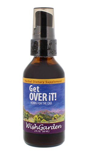 WishGarden Herbs - Get Over It, Organic Herbal Cold & Flu Remedy, Supports Your Body's Recovery (2 oz Pump)