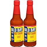 Old Bay Hot Sauce 10 ounces Limited Edition Pack of 2 | Perfect for Seafood, Chicken, and many other foods