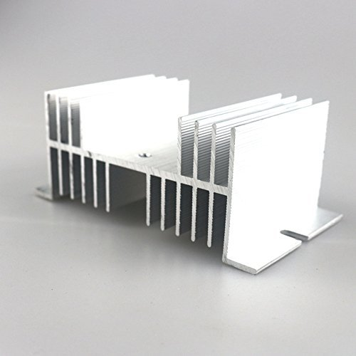 Generic SSR 10A-100A Solid State Relay Heat Sink For Solid State Relay Single Phase SSR by Generic
