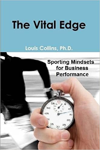 Book The Vital Edge by Ph.D., Louis Collins (2014-04-15)
