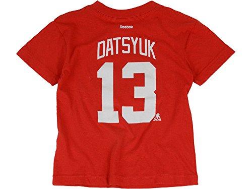 Datsyuk T-shirt - Reebok Toddlers' Pavel Datsyuk Detroit Red Wings Player T-Shirt