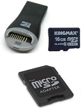 Amazon.com: Kingmax 16 GB Ultra Alta Velocidad MicroSDHC ...