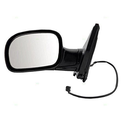 Town & Country Van Mirror - Power Side View Mirror Smooth Driver Replacement for 01-07 Dodge Caravan Chrysler Town & Country Voyager Van 4857877AC