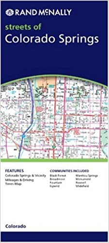 Rand McNally Streets of Colorado Springs, Colorado (Rand McNally ...