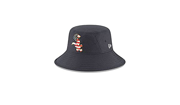 bef7ba2a85aa5 ... shopping new era chicago white sox 2018 stars stripes 4th of july  bucket hat navy at