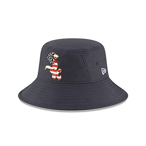- New Era Chicago White Sox 2018 Stars & Stripes 4th of July Bucket Hat – Navy