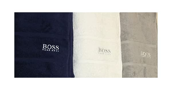 BOSS Hugo Toalla de baño Regalo Hielo Blanco 180 x 100 cm: Amazon.es: Hogar