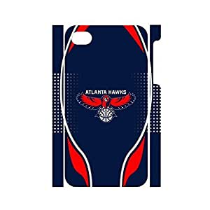 THYde Modern Basketball Team Logo Hard Plastic Phone Shell for Iphone 4/4s Case ending