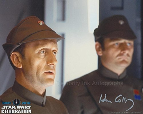Kenneth Colley as Admiral Piett (Star Wars) Autograph
