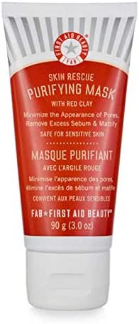 First Aid Beauty Skin Rescue Purifying Mask with Red Clay, 3 oz