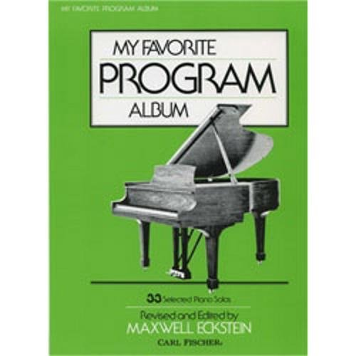 (Carl Fischer My Favorite Program Album (Piano))