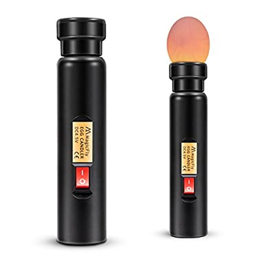 Magicfly Bright Cool LED Light Egg Candler Tester - Incubator Warehouse Exclusive
