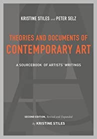 Theories and Documents of Contemporary Art par Kristine Stiles