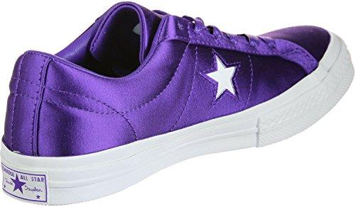 Purple Chuck Ox Lea Converse Taylor Unisex Core Sneaker Adulto qUwH4pg4