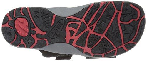 NAOT Men's Climb Flat Gray Sandal qrcpgHTqwS
