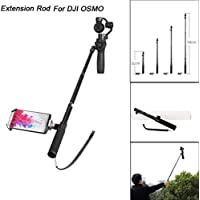 Extension Rod For DJI OSMO Handheld Gimbal Stabilizer, Rucan Extension Rod Lengthening Selfie Stick