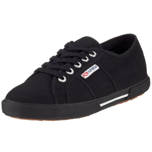 Superga 2950 Cotu - Zapatillas de lona, Unisex Negro (Full Black 996)