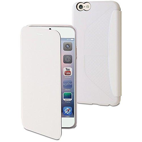 muvit iPhone 6 Plus Easy Folio Card Case White