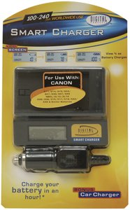 (SMART CHARGER F/CANON CAM &)