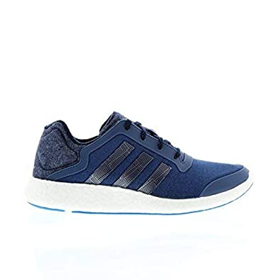 ce7c95f13a7b8 MENS ADIDAS PUREBOOST TECHFIT NAVY RUNNING TRAINERS SNEAKERS B26812 UK 10.5  EUR 45 1 3 US 11  Amazon.co.uk  Shoes   Bags