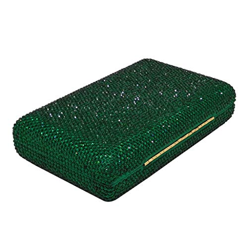 l Boda 96 Blanco Cóctel 13 Para Bolso color One Accesorios Mujer Noche Tamaño Xw Rhinestone 6 Green Banquete X Flash Pulgadas 29 1 H Size 4 De Mano qTZqgwO8