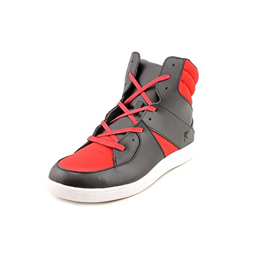 Rocawear Renaissance Mens Highrise Black Red Sneakers Shoes Size 10.5 ()