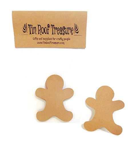 Paper Gingerbread Man (Tin Roof Treasure Gingerbread Man Die Cuts 2.5