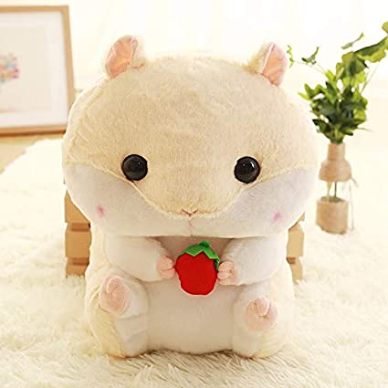 Jewh Hamster Plush Backpack Cute Japanese Plush Hamster Backpack Plush Hamster Kids Toy Boys School Bag